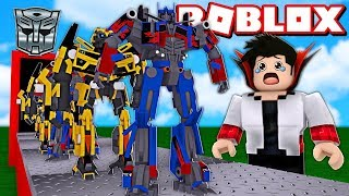 GIANT AND POWERFUL TRANSFORMES FACTORY IN ROBLOX!! War Robots Tycoon