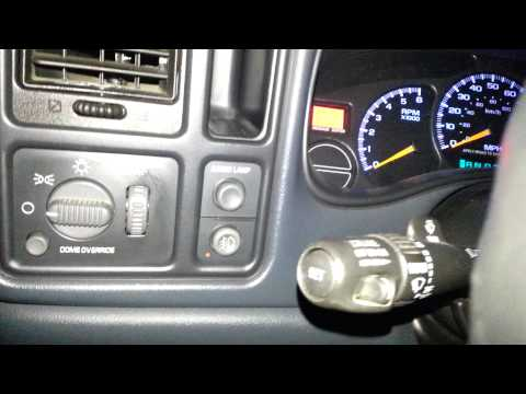 How To Turn On And Off Your Headlights In A 99-03