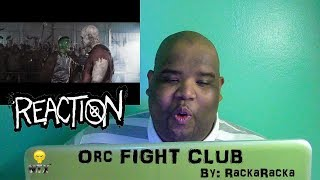 Orc Fight Club Shadow Of War - Reaction