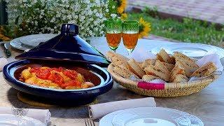 Choumicha : Tajine de poulet Maqfoul شميشة : طاجين الدجاج مقفول