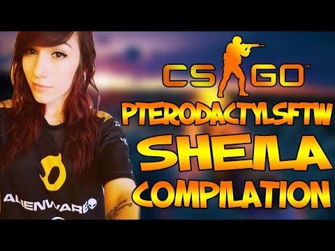 CS:GO - Best Female Pro Player: Sheila compilation #5