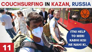 How Russians Treat Indians COUCHSURFING IN RUSSIA EP 11