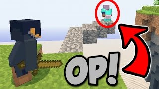 DEFEATING AN OP PLAYER! | Minecraft Xbox Sky Wars (Floating Islands)