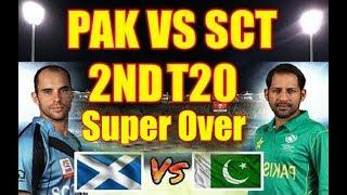 Pakistan Vs Scotland || 2ND T20 Match 2018 || Super Over || Don Bradman Cricket Game Play 2018