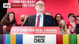 General Election Campaign Check: Labour's costs of living