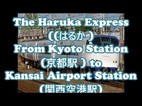 Haruka Express Kyoto to Kansai Airport