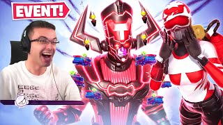 Nick Eh 30 reacts to GALACTUS EVENT in Fortnite!