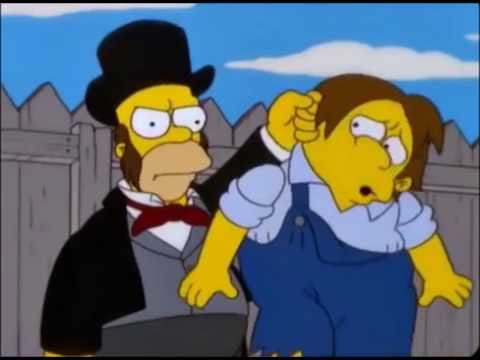 Tom Saywer y Huckleberry Finn (Parte 1/2) Los Simpson