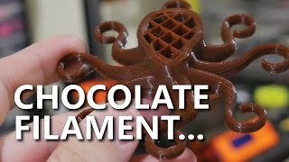 Chocolate Scented 3D Printing Filament. Yes Really