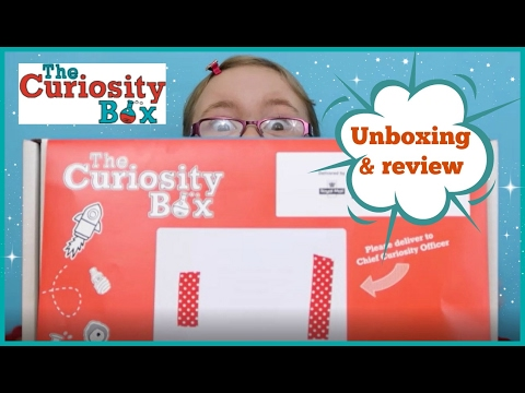 Unboxing The Curiosity Box - Kids science subscription box