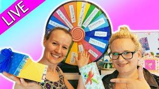 Bastel Challenge *live* GLÜCKSRAD DIY Inspiration mit Eva & Kathi 💗