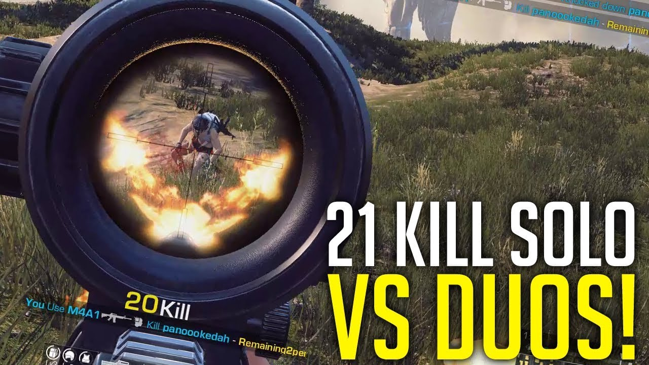 DUOS Get Destroyed! 21 Kill Solo vs Duos RoE (Ring of Elysium)