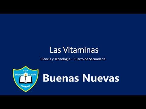 vitaminas---cuarto-secundaria---buenas-nuevas---biologÍa