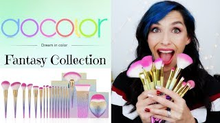 DOCOLOR Fantasy Collection MAKEUP BRUSH Review
