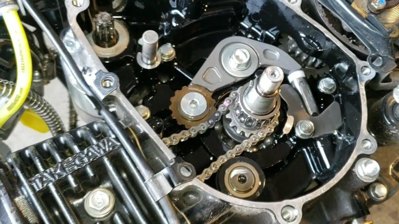 HONDA GROM Koso cam chain tensioner installation ON GROMZILLA