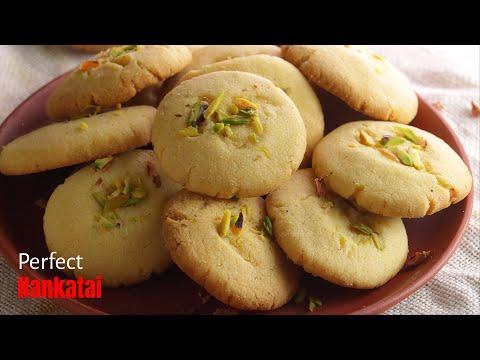 నాన్ఖటాయ్|Nankhatai biscuits in at home in pressure cooker & oven by vismai food|biscuits in coo