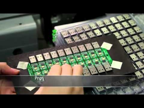 видео: Как делают флешки и карты памяти.