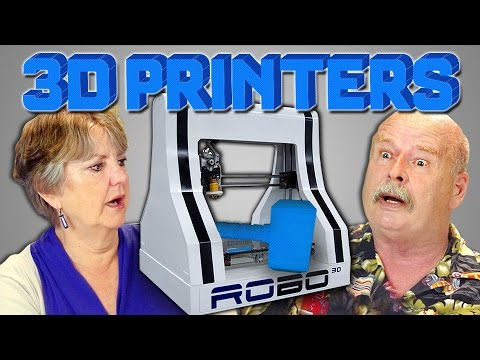 ELDERS REACT TO 3D PRINTERS