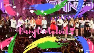 [Throwback] A Year Ago, 170804 Music Bank in Singapore #RedVelvet #BTS #BTSVelvet