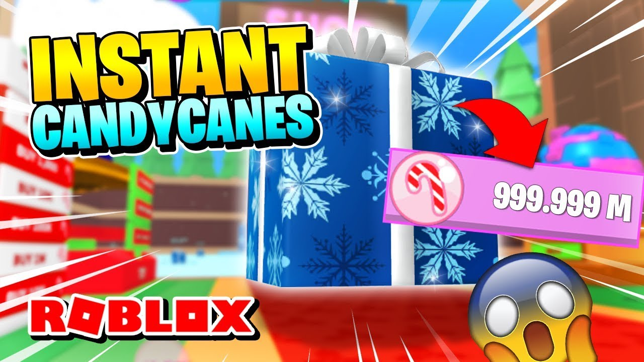 Roblox Ice Cream Simulator How To Get Instant Candy Canes Youtube