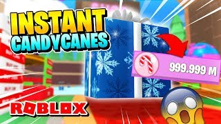 ROBLOX ICE CREAM SIMULATOR: HOW TO GET INSTANT CANDY CANES!!
