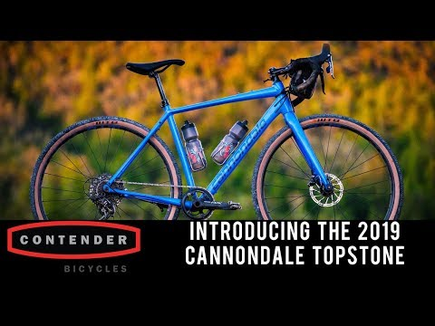 7d50e093a43 We've heard for years that Cannondale was playing catchup in the gravel bike  scene, all the way to the release of the 2019 Cannondale Topstone.
