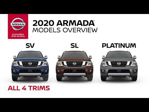 2020 Nissan Armada SUV Walkaround & Review