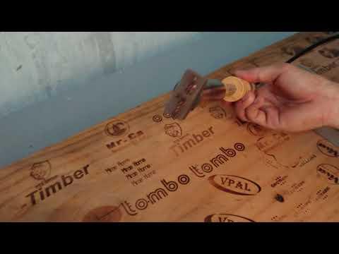 In nhanh logo trên gỗ
