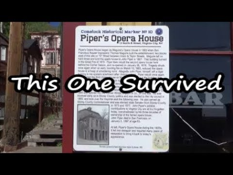 Piper's Opera House in Virginia City, Nevada - Road Trip Vlog 21