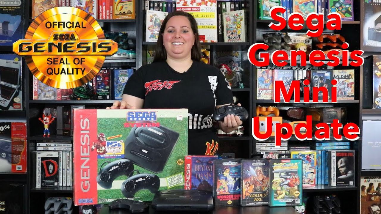 UPDATE! Sega Genesis Mini Announcement 2019 - What you need to know (Game  List, Date, Pre Orders)