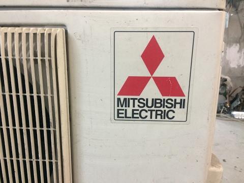 Кондиционер Mitsubishi Electric Обзор наружного блока Б.У.