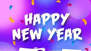 Happy New Year 2019 wishes images whatsapp download animation greetings wallpaper clock
