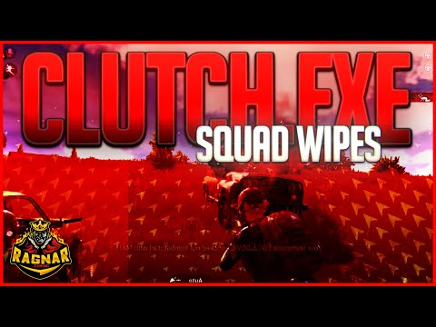 CLUTCH EXE - SQUAD WIPES - INTENSE GAMEPLAY #1 - PUBG MOBILE PAKISTAN