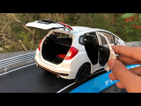 Unboxing of Mini Honda Jazz/Fit 1/18 Diecast Model Car | By Honda Merchandise | Giveaway Winner