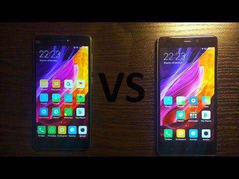 Сравнение Xiaomi MI4c VS Redmi 4 Prime (PRO)