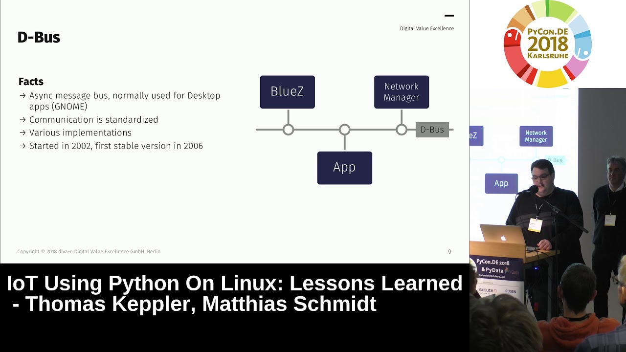 Image from IoT using Python on Linux: Lessons Learned
