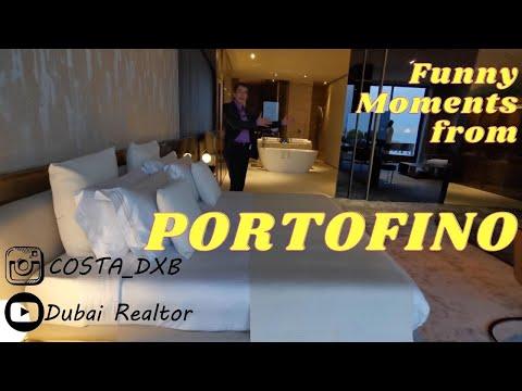 Funny moments from shooting site on Portofino The World Islands Dubai