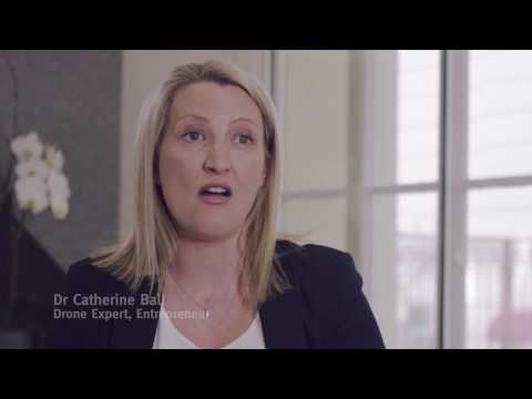 Move Up in the World advertisement (LinkedIn) – Dr Catherine Ball – drone economy