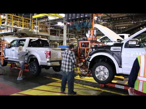 2015 Ford F-150 Kansas City Assembly Plant   AutoMotoTV