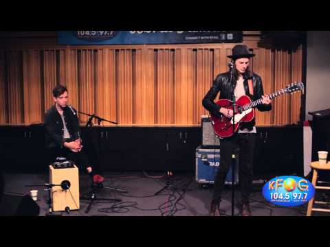 James Bay 'Let It Go' Live on KFOG Radio