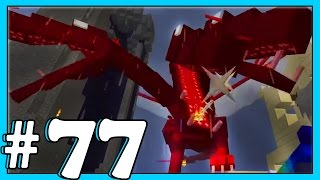 Minecraft - Crazy Craft 2.2 - Fighting The QUEEN!! [77]