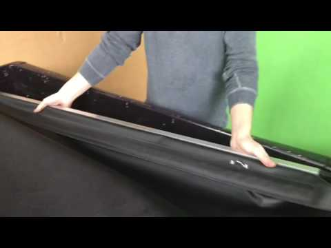 How To Fit A Holden Crewman And Commodore Tonneau Cover Youtube