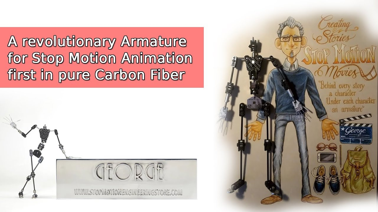 GEORGE® THE WORLD\'S BEST ARMATURE FOR STOP MOTION ANIMATION by ...