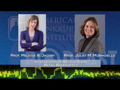 Ep184-  Intersection of Article 9 and Retail Bankruptcy