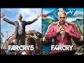 Far Cry 5 VS Far Cry 4 - COMPARISON