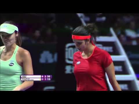 Sania Mirza | 2015 WTA Finals Hot Shot | Final