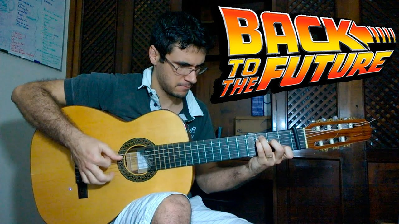 Back to the future theme fingerstyle guitar marcos kaiser 30