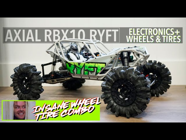 RIPPED RYFT -  Axial RBX10 Electronics & INSANE wheel setup