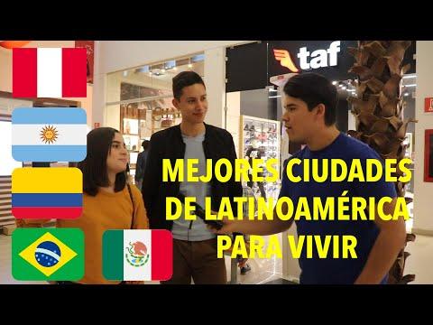 LOS MEXICANOS PREFIEREN ESTAS CIUDADES DE LATINOAMÉRICA PARA VIVIR