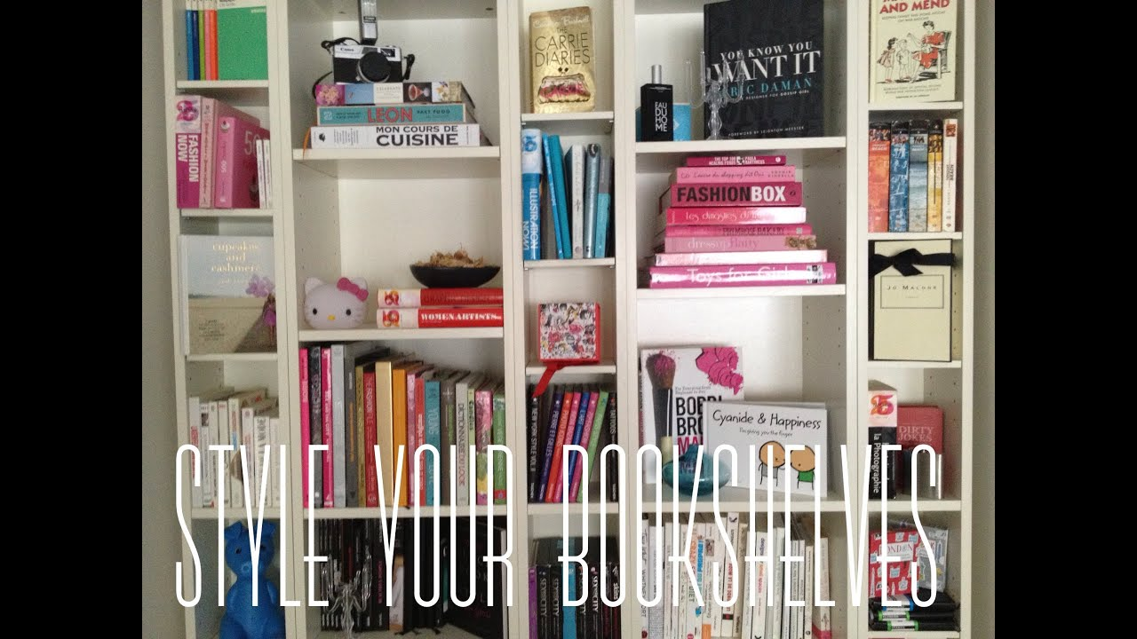 How To Style Your Bookshelves Styleplaygroundtv Youtube